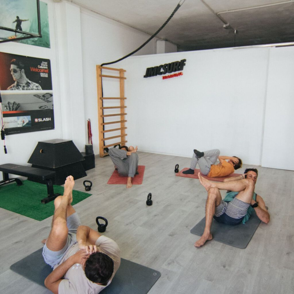 Entrenamiento funcional para surf