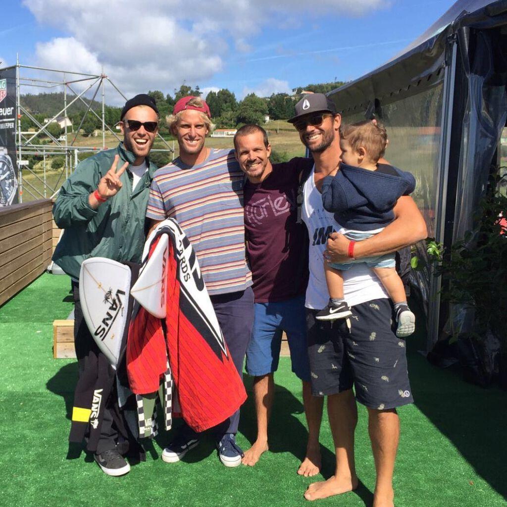 Patrick y Tanner Gudauskas, Brian Thoth y Jose Maria Cabrera en Pantin Classic 2016